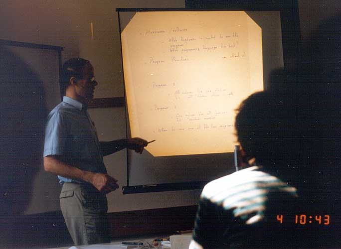 Casper ter Kuile giving his lecture (credit Casper ter Kuile).