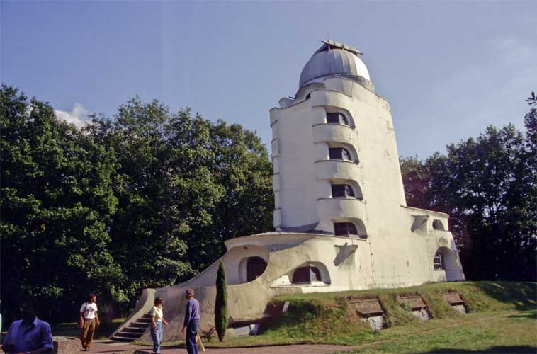 The Einsteinturm Solar observatory (credit Paul Roggemans).