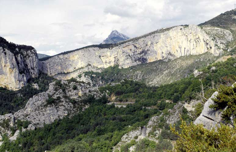 Sightseeing during the excursion to the Canyon du Verdon (credit Axel Haas).