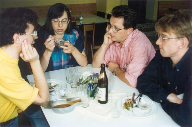 From l.to r. Paul Roggemans, Gisela De Smedt, Marc Neijts and Felix Bettonvil (credit Casper ter Kuile).