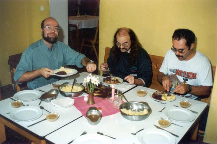 From l.to r. Carl Johannink, Axel Haas and André Knöfel (credit Casper ter Kuile).