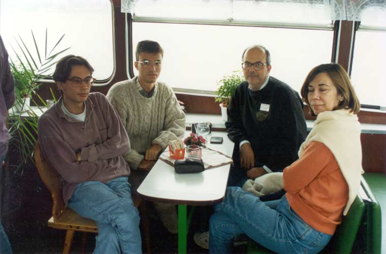 From l.to r. Luis Bellot, Manuel Solano Vinuesa, Manuel Solano Ruiz and Isabel Vinuesa Vivanco (credit Casper ter Kuile).