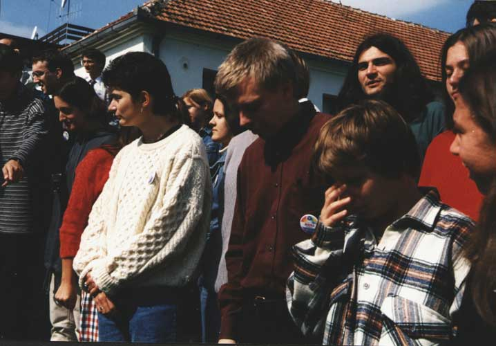 During the group photo (credit unkown photographer, image provided by Valentin Velkov).