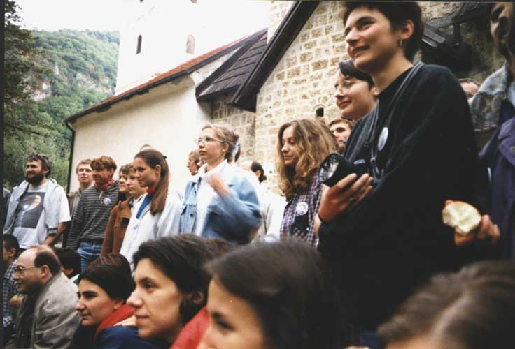 During the unofficial group photo (credit unkown photographer, image provided by Valentin Velkov).