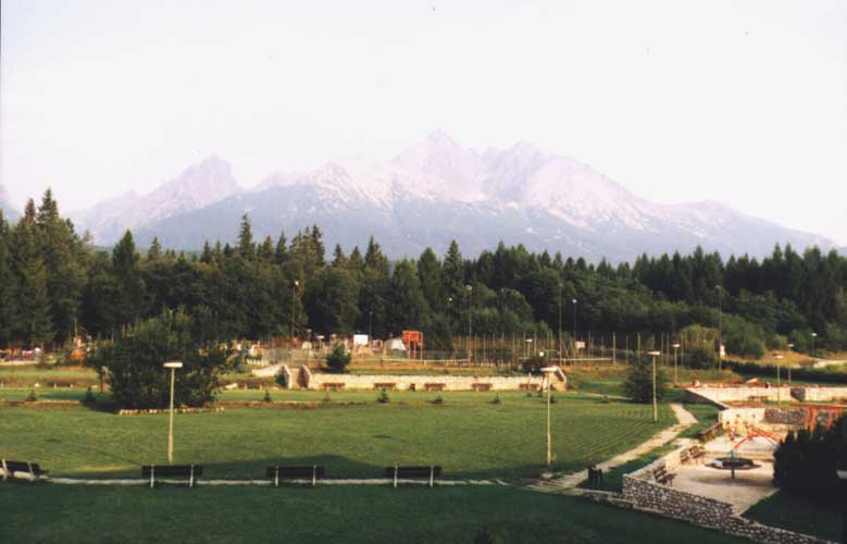 The landscape around the 1998 IMC host Stará Lesná (credit unknown photographer, picture provided by Valentin Velkov).