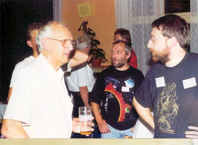 Ian Williams, Jürgen Rendtel and Alastair McBeath (credit Valentin Grigore).