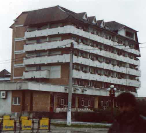 The hotel Cres, host of the 2000 IMC (credit Javor Kac).