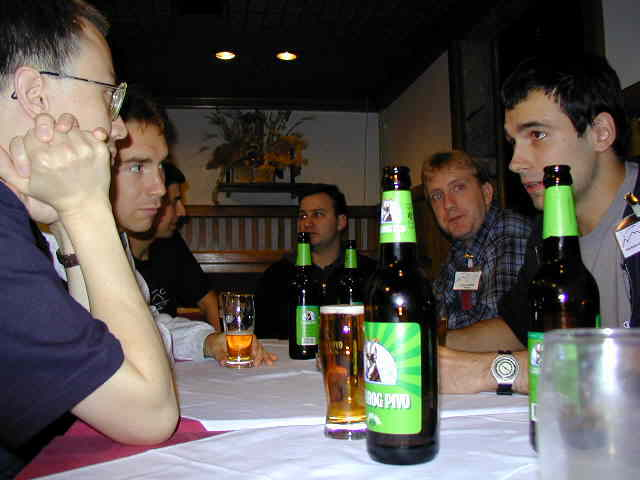 Interesting discussions have taken place during the drinking part of the IMC (credit Javor Kac).