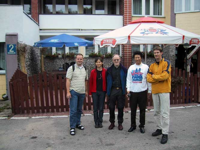 Some IMC participants, from l.to r. Arnold Tukkers, Min Guan, Casper ter Kuile, Jin Zhu and Jos Nijland (credit Casper ter Kuile).