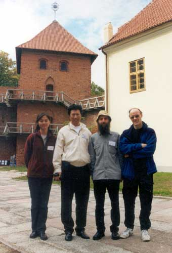 During the excursion, Min Guan, Jin Zhu, Valentin Grigore and Casper ter Kuile (credit Casper ter Kuile).