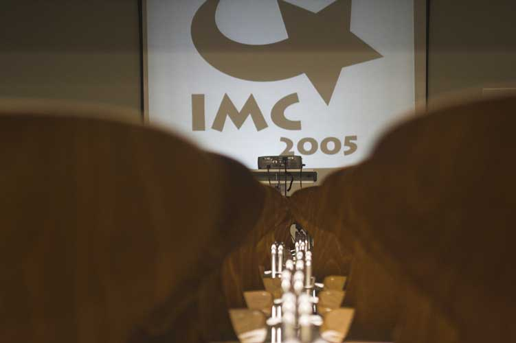 The symbol of the IMC 'Immy', at the start Friday morning (credit Rainer Arlt).