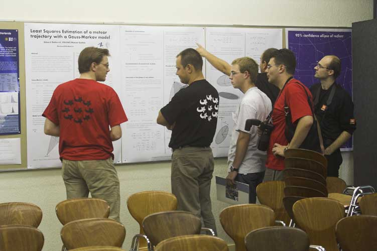 The poster session (credit Rainer Arlt).