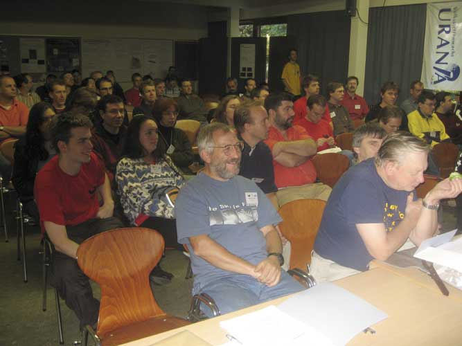 The attentive audience during the Astro Poetry show (credit Casper ter Kuile).