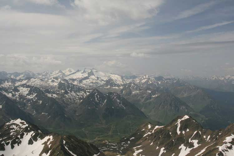 Breathtaking views from the Pic du Midi observatory (credit Luc Bastiaens).
