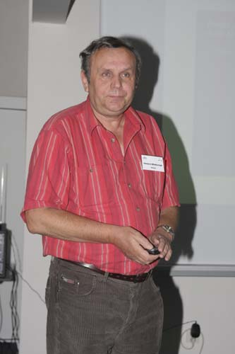 Ireneusz Wlodarczyk with 'Paths of risk for several asteroids with the Earth and Mars' (credit Bernd Brinkmann).