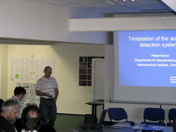 Pavol Koten with 'Temptations of the automatic detection systems' (credit Xiang Zhan).