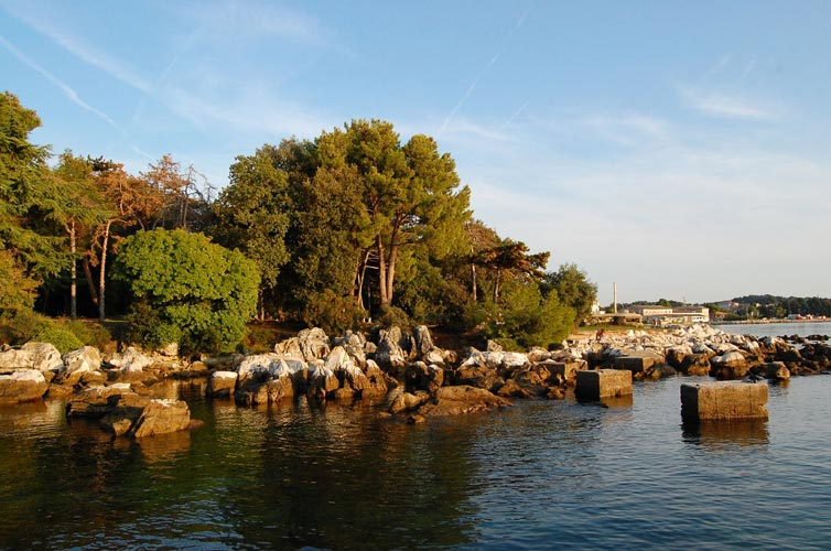 The Adriatic sea at hotel Pical, a beatiful scenary (credit Gabriela Sasu).