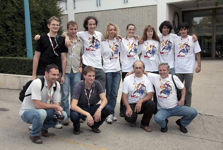 The Croatian team standing from left to right Denis Vida, Filip Novoselnik, Mateo Paulišić, Ana Galant, Jasmina Šestan, Maga Rajić, Lovro Pavletić and Ivica Pletikosa. Seated from left to right: Ivica Skokić, Gaj Tomaš, Korado Korlević and Damir Šegon (credit Korado Korlević).