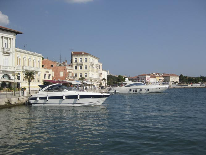 Saturday afternoon excursion: the historic city of Poreč (credit Jos Nijland).