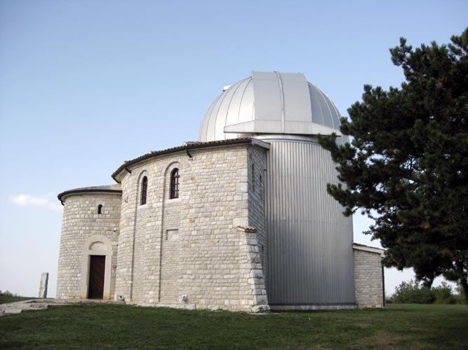 Saturday afternoon excursion: the Višnjan Observatory (credit Jos Nijland).