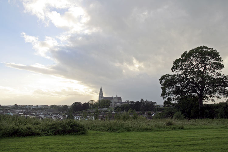 View on Armagh from near the Observatory (credit Thomas Grau).