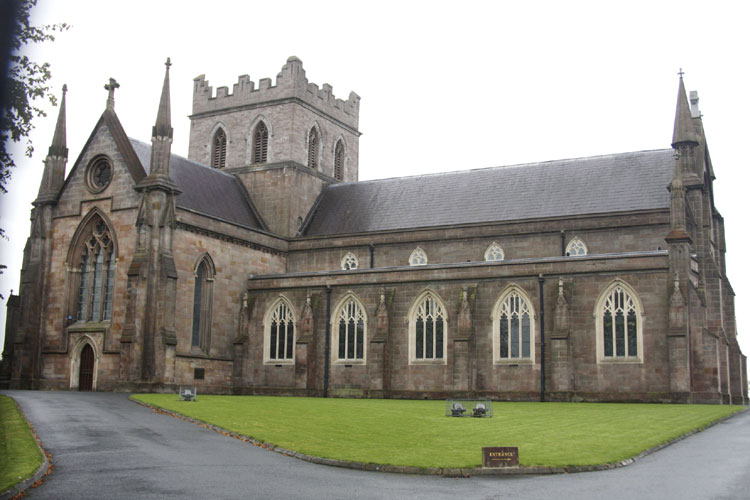 The Saint Patrick Cathedral of the Church of Ireland in Armagh (credit Bernd Brinkmann).