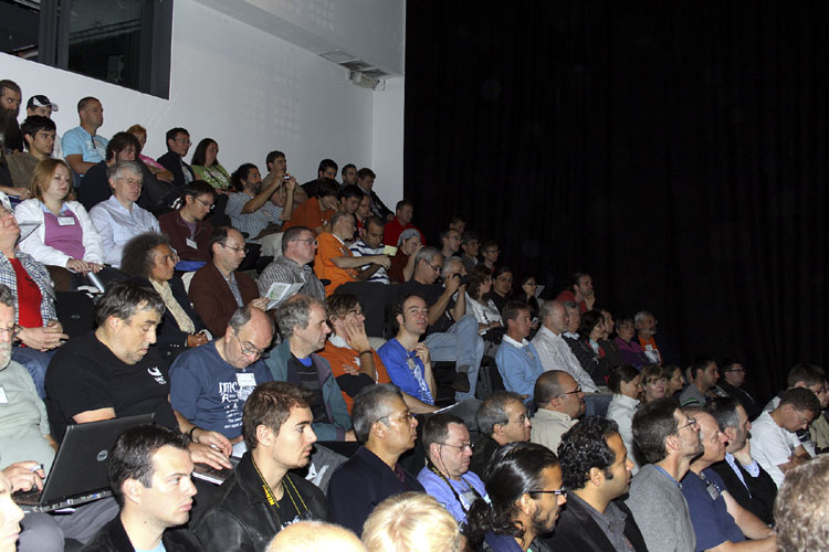 The audience during the opening speeches (credit Vincent Loughran).