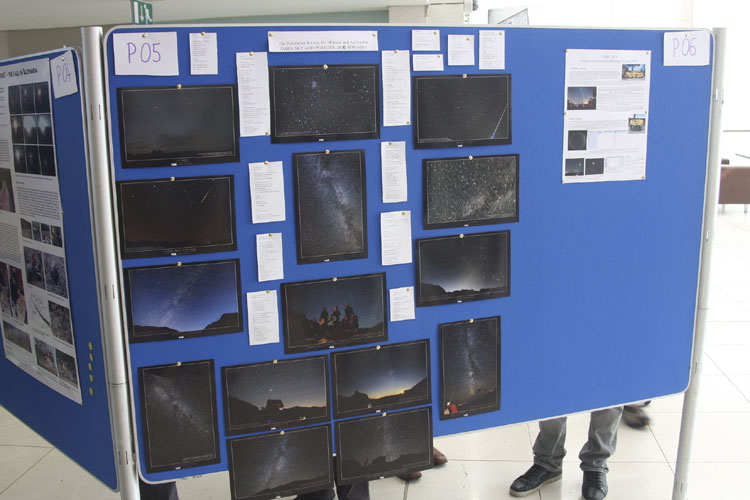 Poster session: 'Perseids 2010 in Romania' by Valentin Grigore (credit Bernd Brinkmann).