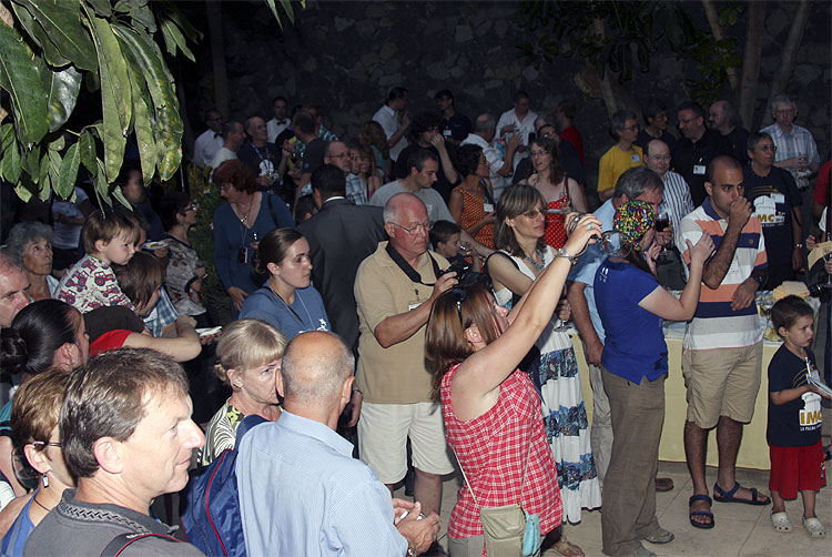 Thursday evening, IMC participants enjoying the music and dance of the local folklore (credit Bernd Brinkmann).