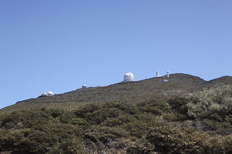 During the excursion: arriving at the observatory (credit Dominique Richard).