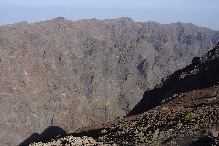 During the excursion: view in the caldera (credit Bernd Brinkmann).