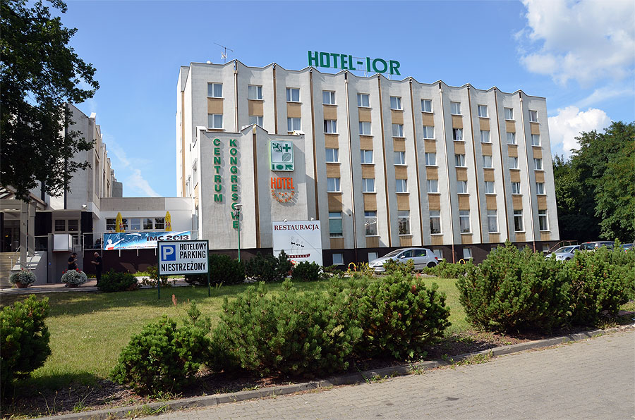 The 2013 IMC host, IOR Hotel in Poznan. (credit Axel Haas).