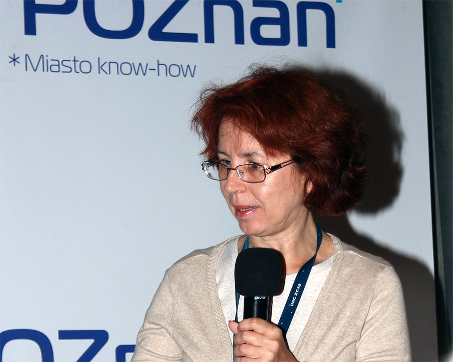 Galina Ryabova: 'The Geminid stream modelling: lessons of history' (credit Bernd Klemt).