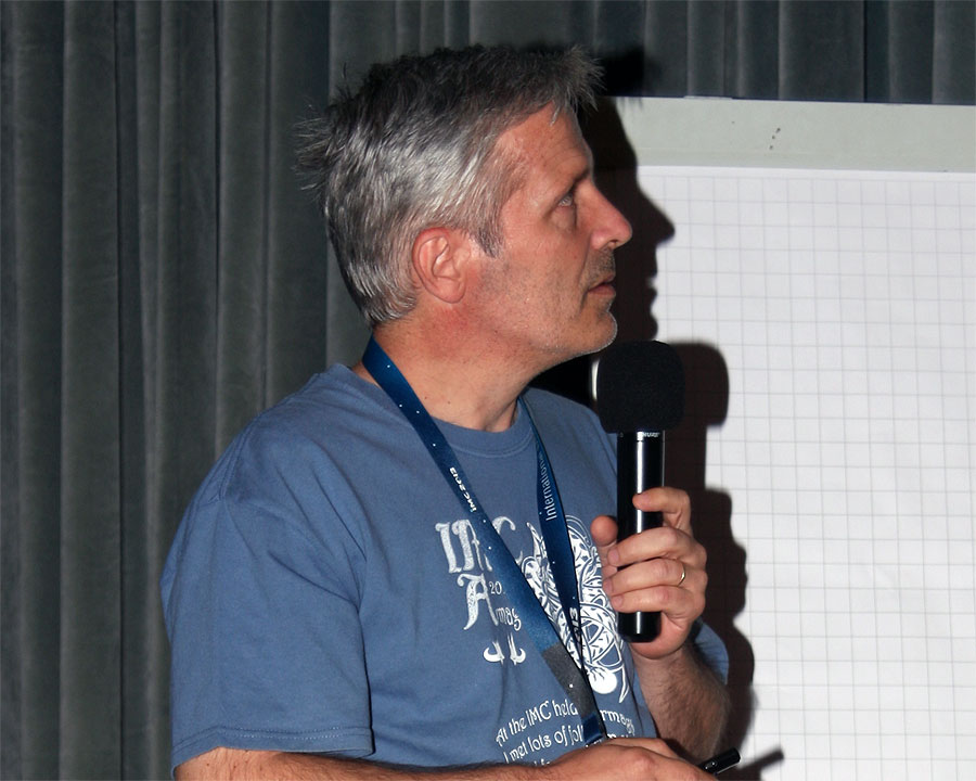 Damir Šegon: 'Meteor Shower Search in the CMN and Sonotaco Orbital Data Bases' (credit Bernd Klemt).