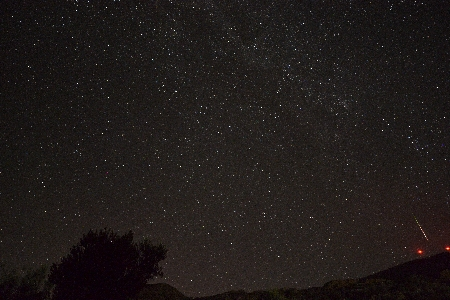 -2 Mag Perseid near the horizon on August 8 uploaded by Kai  Gaarder