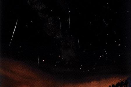 2018 Lyrid meteor shower  uploaded by Michel Deconinck