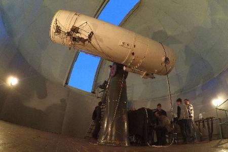 AZT - 14 telescope(D = 48 cm, F = 7.7 m, + CMOS-camera SBIG ST-7 + filters UBVRI uploaded by Vlad Shelin