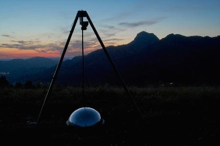 Self-made All-Sky-Camera ALSK  uploaded by Peter C. Slansky