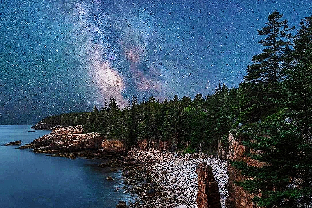 Nigth at Acadia National Park uploaded by Kate  Macan