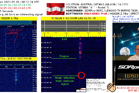 An interesting signal from 2020-05-20 / 08:32:24 UTC  uploaded by Rudolf Sanda