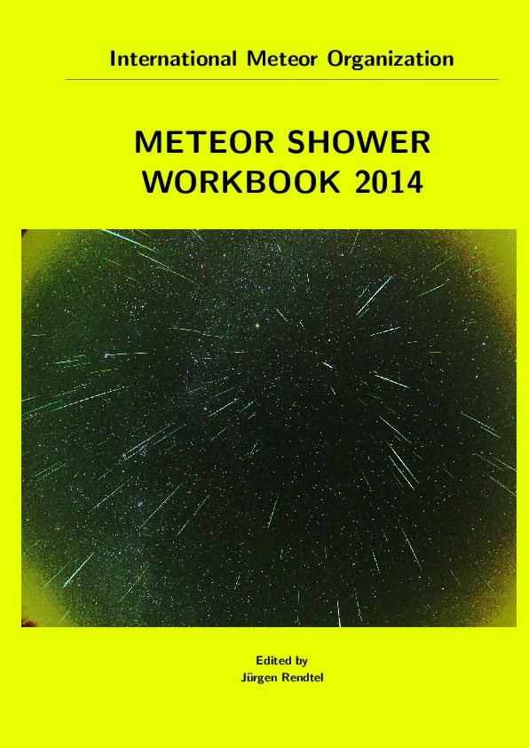 Meteor Shower Workbook