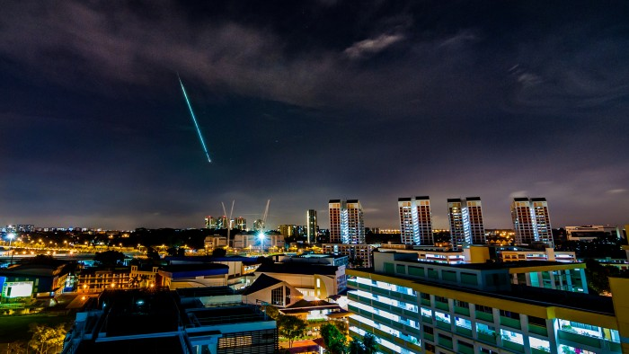 Fireball over Singapore