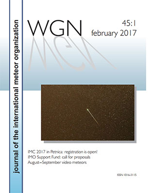 Latest WGN Edition - the IMO Journal