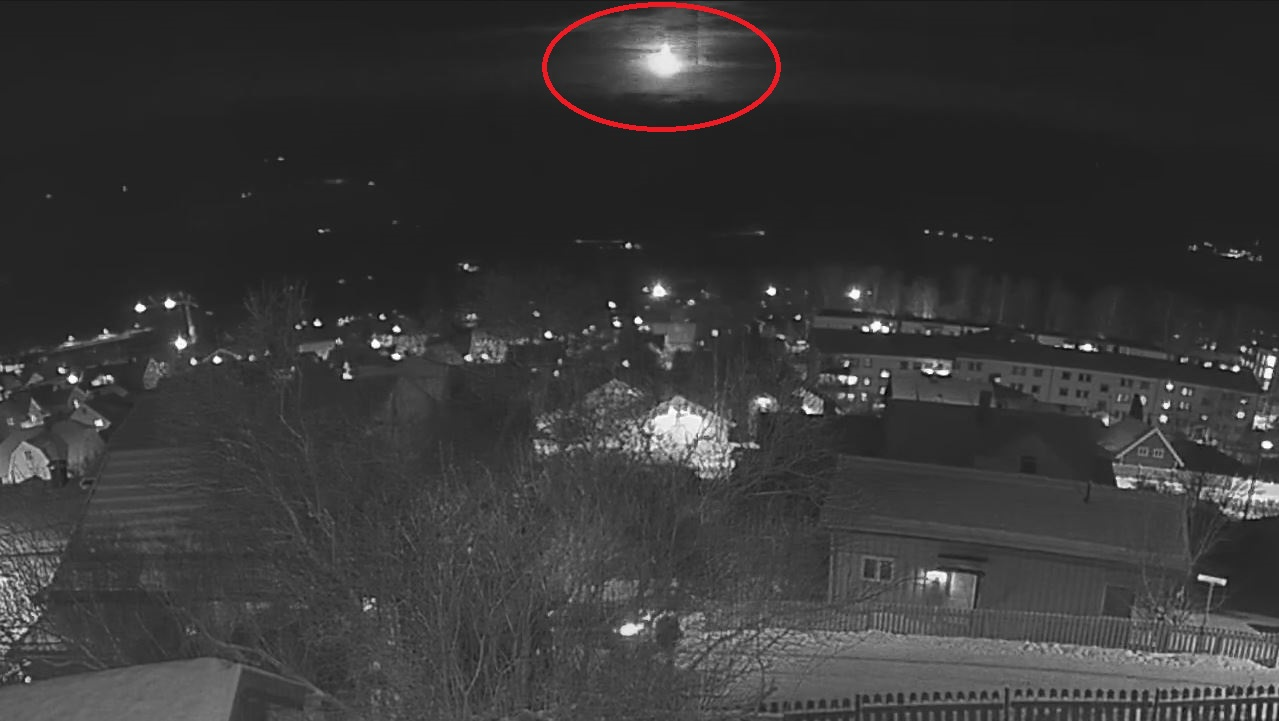 The December 16, 02017 Norwegian fireball recorded by