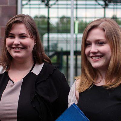 Theresa Ott and Esther Drolshagen