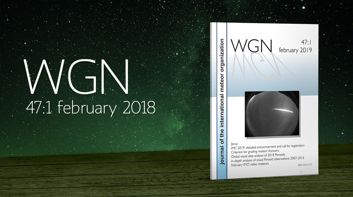 WGN 47:1 out now!