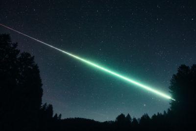 Figure 3- Picture of the November 19th, 03h 47min UT fireball from Seppenröth (Austria). Credit:  Hermann K.